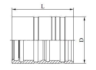 Manuli, Refrimaster Plus, Refrimasterplus, Presshülse, Klemmhülse, Klimaschlauch DN16, DN 16, C00750, C00750-12, 27,1mm